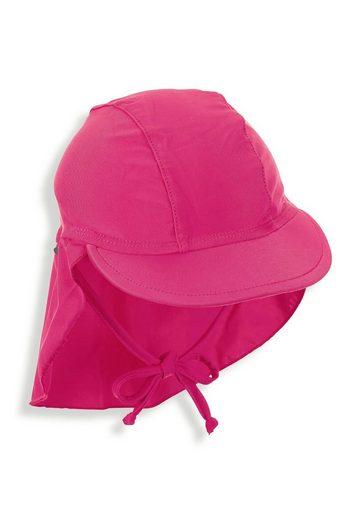 Sterntaler® Schirmmütze »Schirmmütze mit Nackenschutz« (1-St) mit Nackenschutz und Bindeband