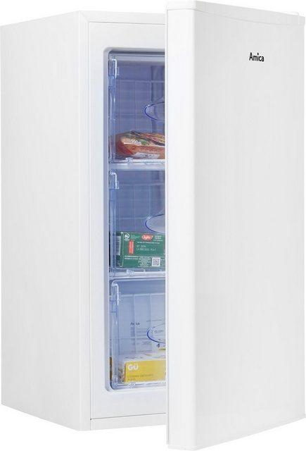 Küchengroßgeräte - Amica Gefrierschrank GS 15696 W, 84,5 cm hoch, 48 cm breit  - Onlineshop OTTO