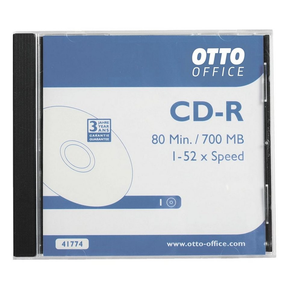 OTTO Office Standard CD-Rohlinge »CD-R«, 10er Pack