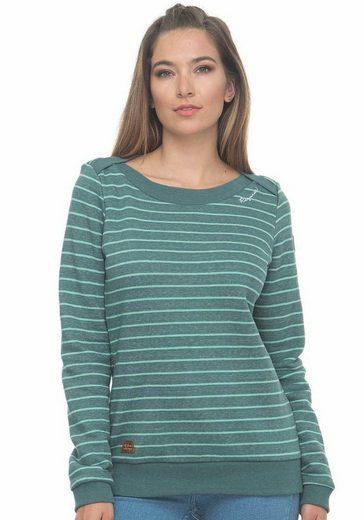 Ragwear Sweater »TASHI« in Ringel-Optik