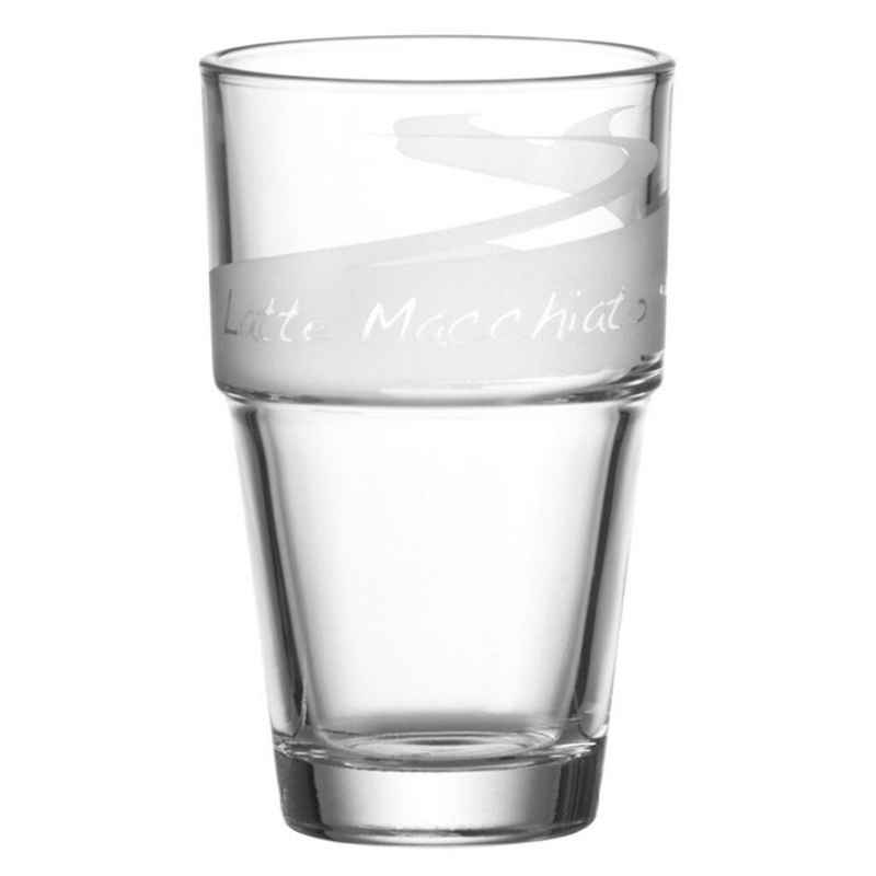 LEONARDO Latte-Macchiato-Glas »Solo 400 ml 11976«, Glas