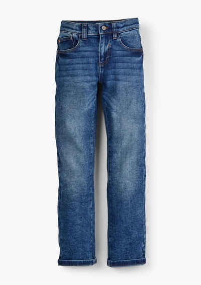 s.Oliver 5-Pocket-Jeans »Regular: Jeans mit Waschung« Waschung