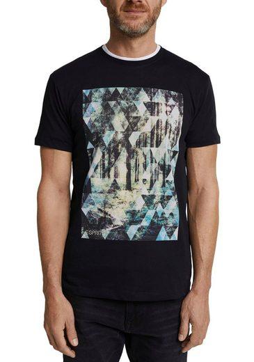 Esprit T-Shirt mit großem Fotoprint