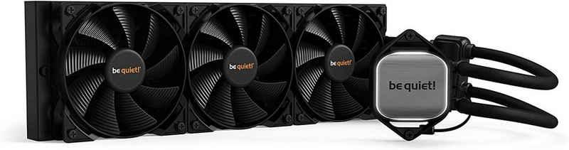 be quiet! Wasserkühlung »PURE LOOP BW008«, 360mm, All-in-One Wasserkühlungssystem mit Pure Wings 2 120mm PWM Lüfter, Aluminium, schwarz