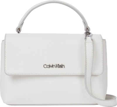 Calvin Klein Umhängetasche »FLAP MINI BAG W/TOP HANDLE«, im kleinen Format