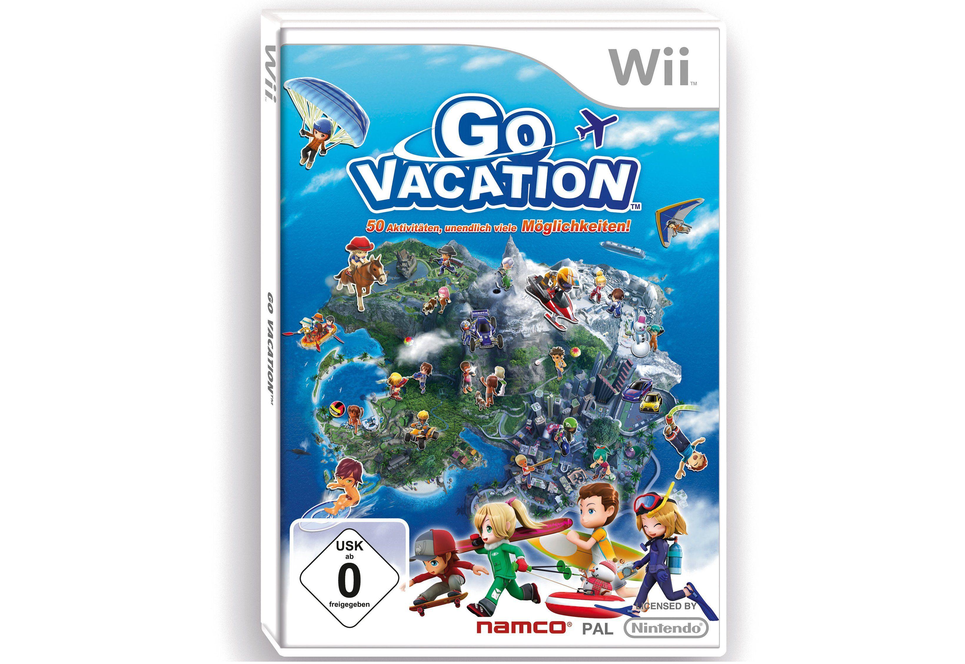Wii-Spiel »Go Vacation«