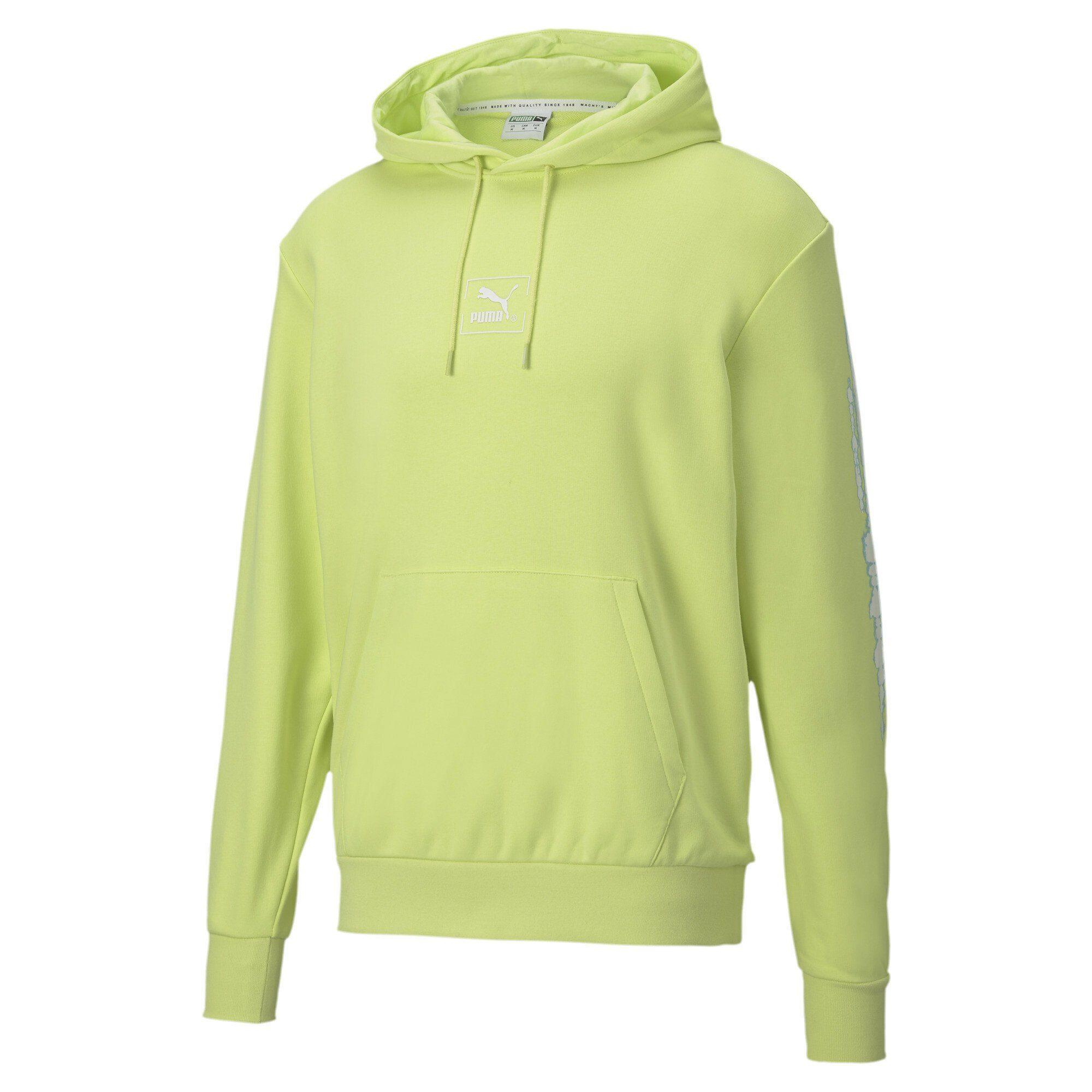 PUMA Herren Pullover Tech Graphic Hooded: : Bekleidung