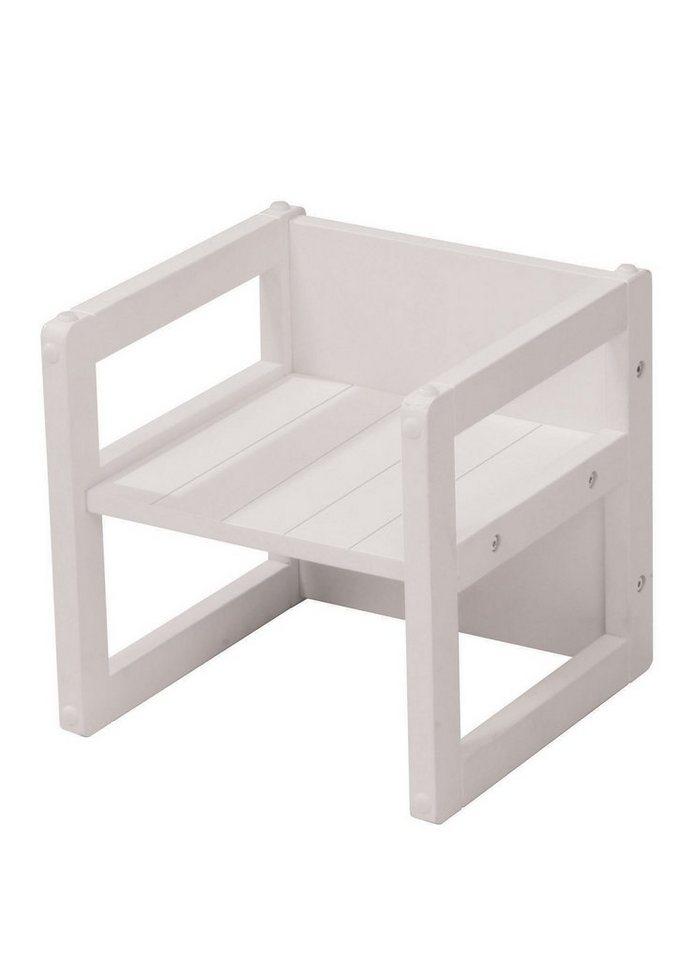 Sitzhocker - Weiß, Roba