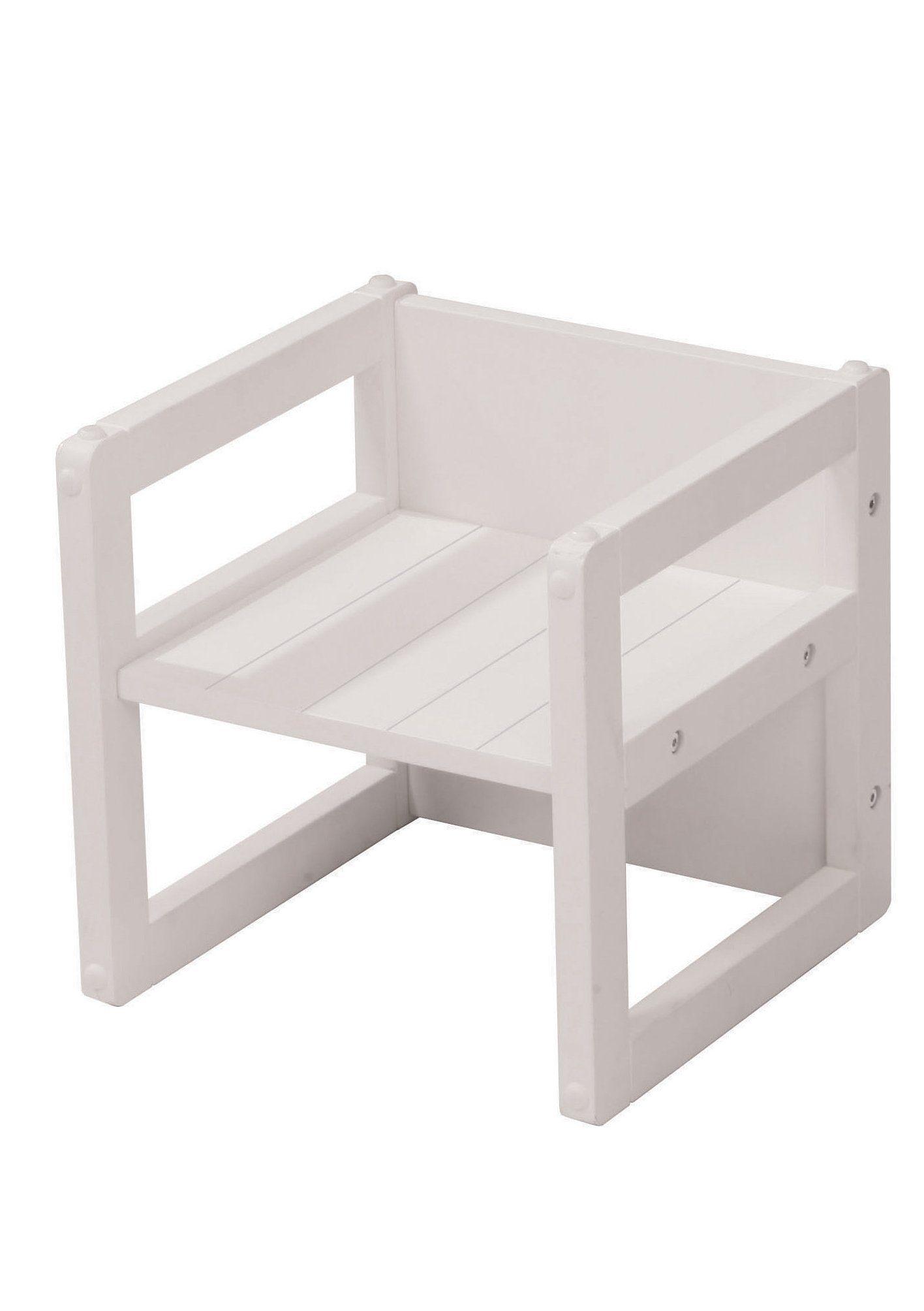 Roba, Sitzhocker - Weiß