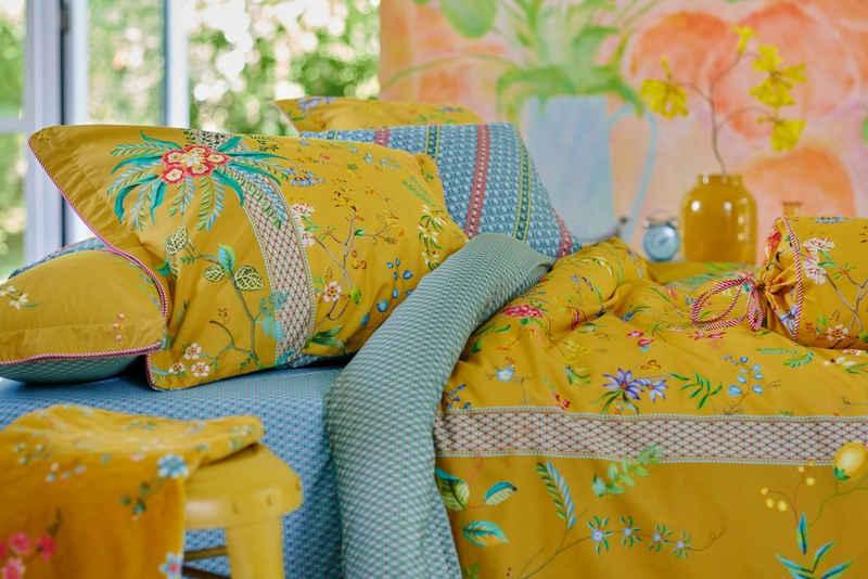 Bettwäsche »Pip Studio Petites Fleurs Bettwäsche - Gelb Perkal«, PiP Studio