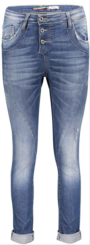 PLEASE Relax-fit-Jeans »P 78A_BQ2DLI-P78A« Jeanshose mit Stretchanteil