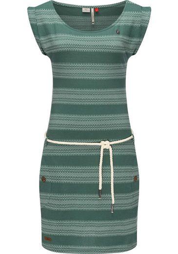 Ragwear Sommerkleid »Tag Blockstripes Intl.« leichtes Jersey Kleid mit Streifen-Muster