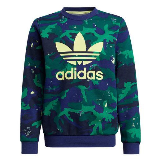 adidas Originals Sweatshirt »Camo Print Crew Sweatshirt«