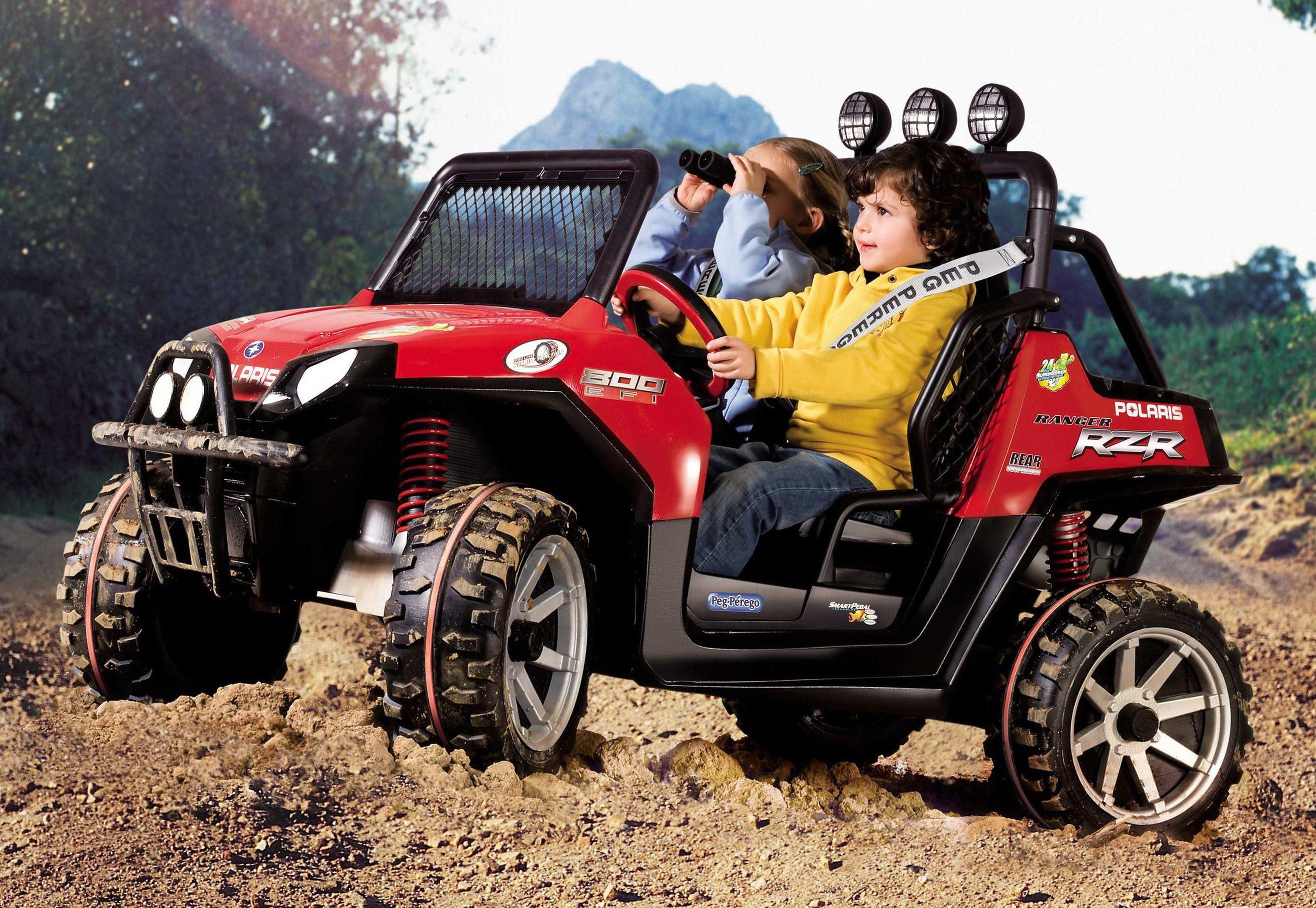 Peg-Pérego Elektrofahrzeug für Kinder Geländewagen Zweisitzer »Ranger RZR - Polaris - 24 Volt«