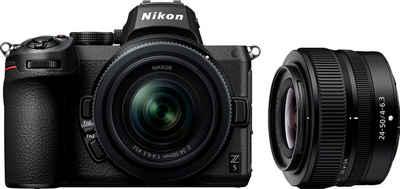 Nikon »Z 5 KIT 24-50 mm 1:4.0-6.3 + FTZ Objektivadapter« Systemkamera (NIKKOR Z 24-50 mm 1:4.0-6.3, 24,3 MP, Bluetooth, WLAN (WiFi)