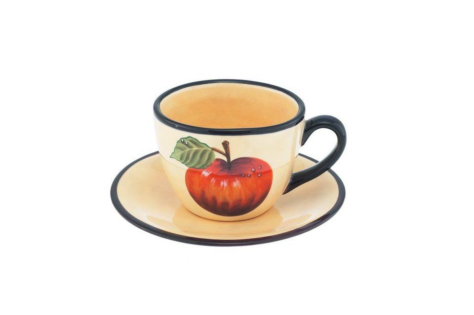 Magu Kaffee-Gedeck 2 tlg. »Toscana« in Bunt
