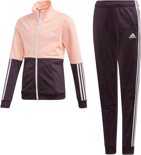 adidas Performance Trainingsanzug »GIRLS TRACKSUIT« (Set, 2-tlg)