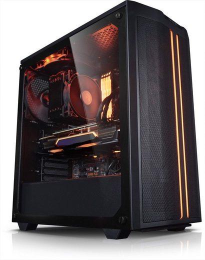 Kiebel Hunter V Gaming-PC (AMD Ryzen 5 AMD Ryzen 5 5600X, RTX 3070, 32 GB RAM, 1000 GB SSD, Luftkühlung, RGB-Beleuchtung)