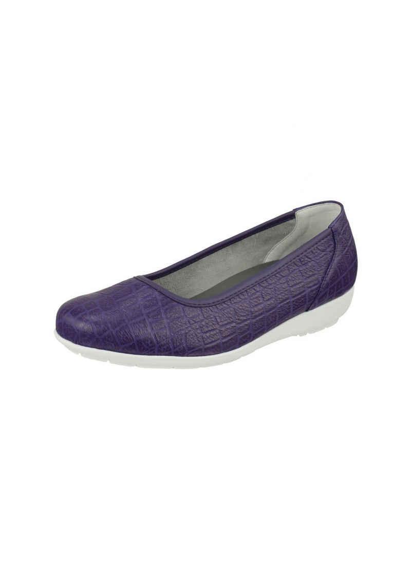 Natural Feet »Catharina« Ballerina mit Memolatex-Einlegesohle