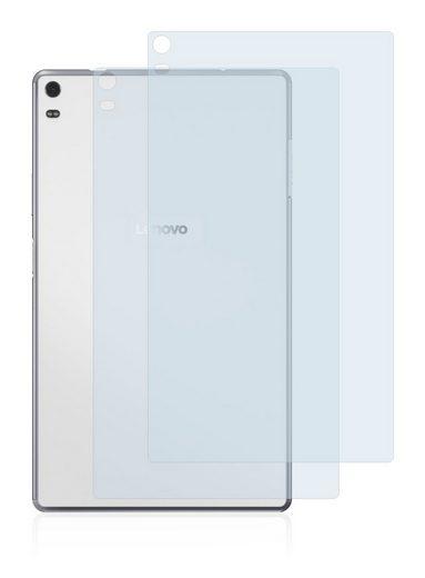 BROTECT Schutzfolie »für Lenovo Tab 4 8 Plus (Rückseite)«, (2 Stück), Folie Schutzfolie matt entspiegelt