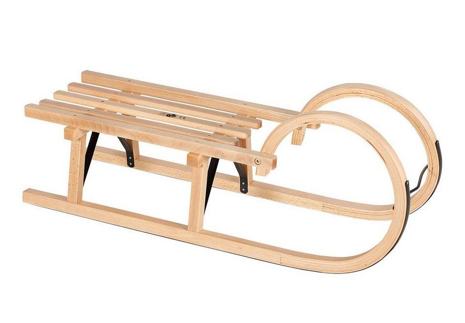 Dein Spielplatz Hörnerschlitten aus Holz »Hörnerrodel« 95 cm