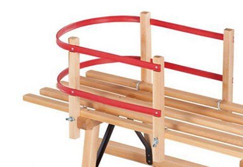 Dein Spielplatz Rückenlehne für Schlitten für »Davoser u. Hörnerrodel«