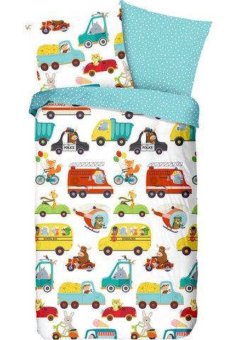 good morning Kinderbettwäsche »Traffic« su Autos