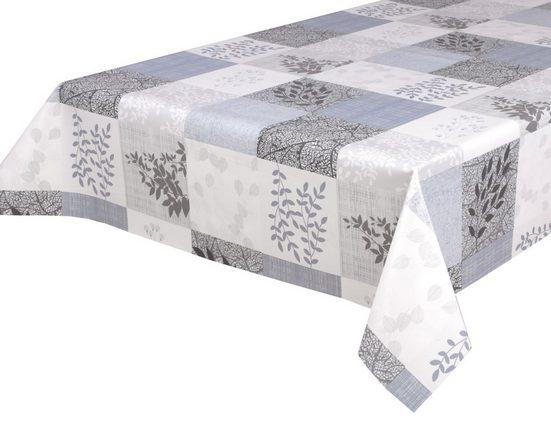 Beautex Tischdecke »Wachstuchtischdecke, Fancy, abwischbar Wachstuch Garten Tischdecke ECKIG RUND OVAL, Größe wählbar« (1-tlg)