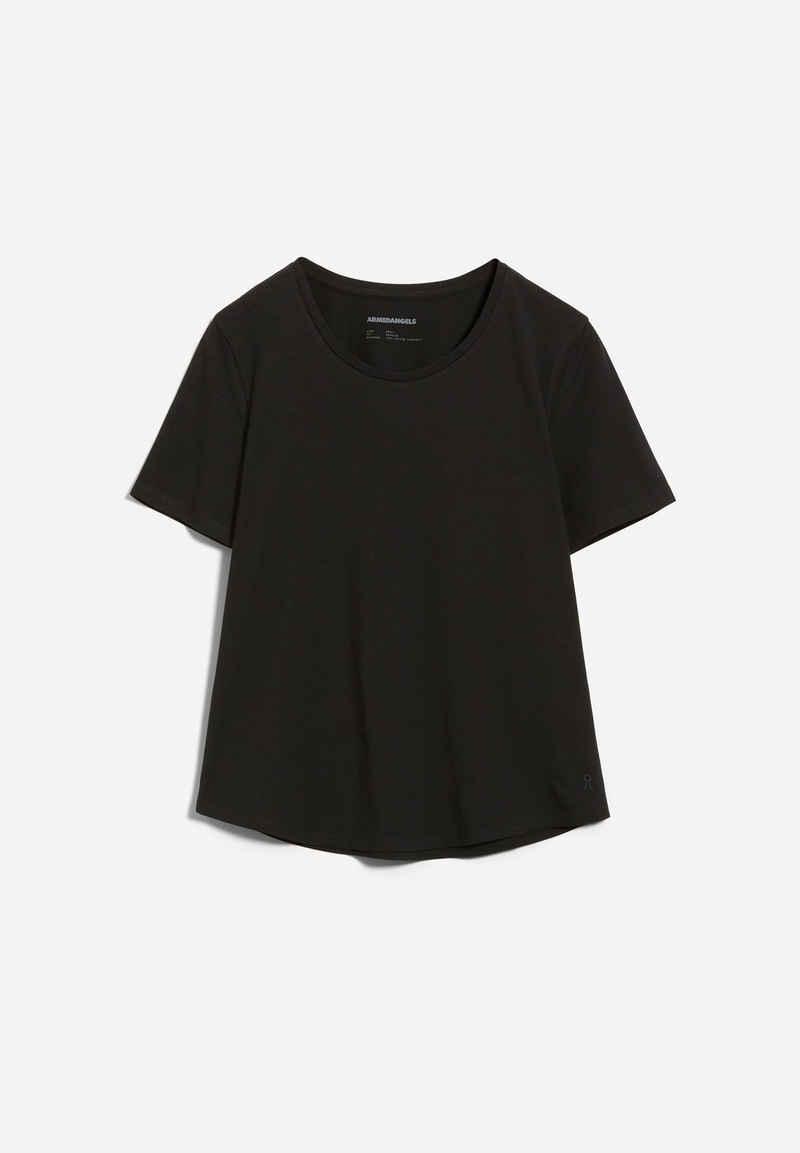 Armedangels T-Shirt »MINAA Damen T-Shirt aus Bio-Baumwolle Regular Fit« (1-tlg)