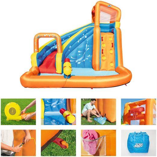 BESTWAY Planschbecken »H2OGO!™ Wasserpark Turbo Splash«, BxLxH: 320x265x270 cm, mit Dauergebläse