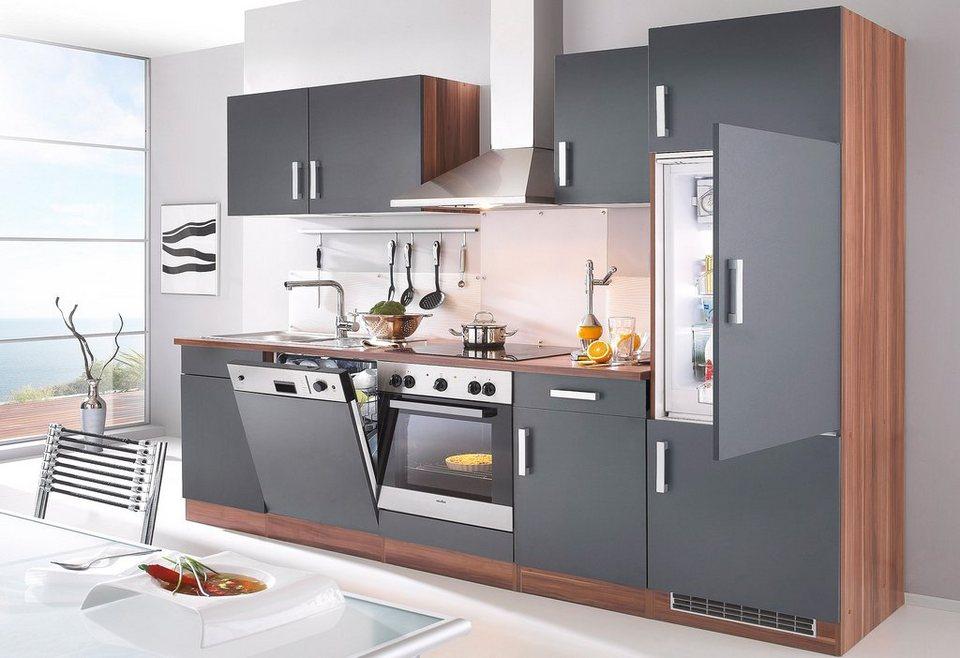 HELD MÖBEL Küchenzeile mit E-Geräten »Toronto, Breite 280 cm ...