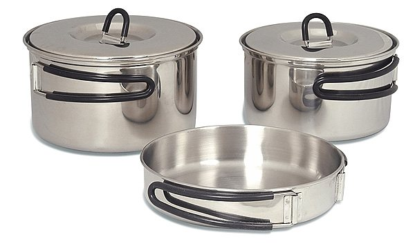 Tatonka Camping-Geschirr »Cookset Regular« in silber
