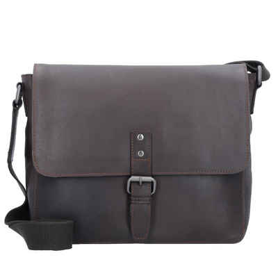 Leonhard Heyden Messenger Bag »Dakota«, Leder