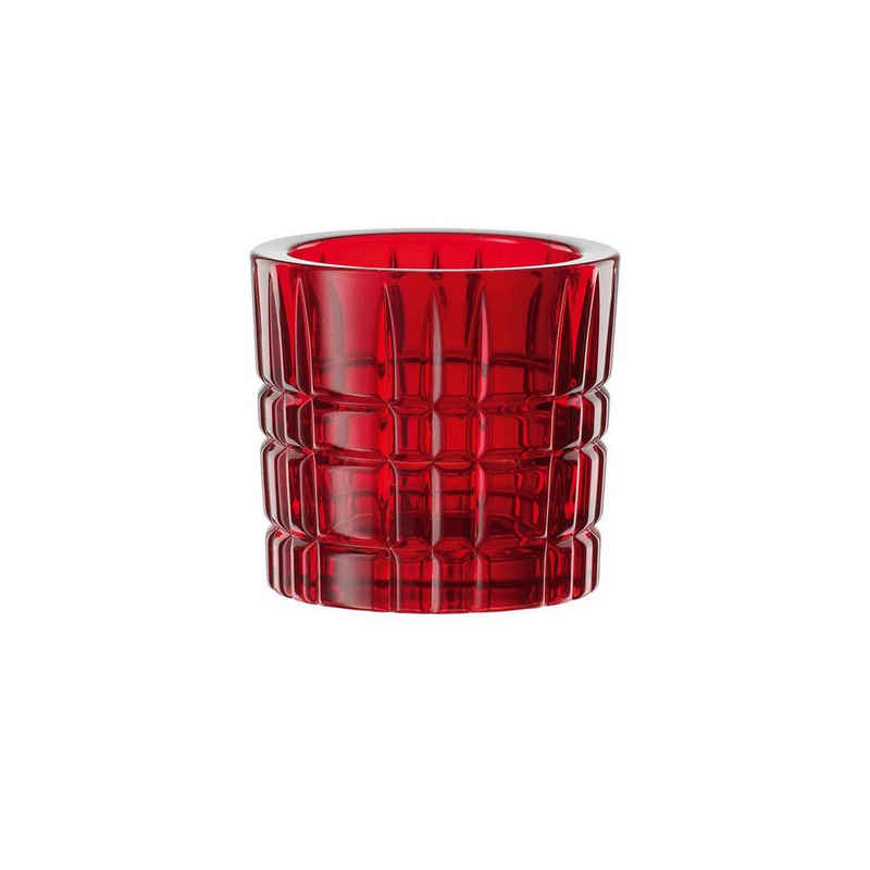 Nachtmann Kerzenhalter »Square Teelichthalter rot« (1 Stück)