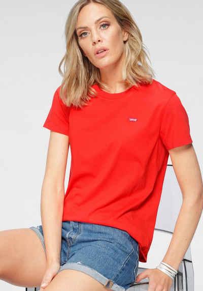 Levi's® T-Shirt »Perfect Tee« mit kleiner Logostickerei