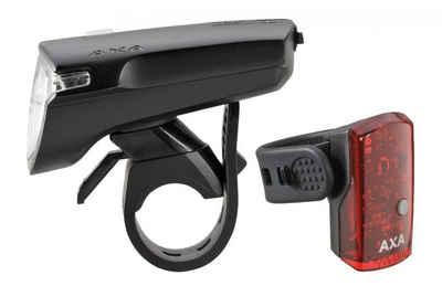 AXA Fahrradbeleuchtung »Axa Beleuchtungs-Set Greenline 40 schwarz 40 Lux m«