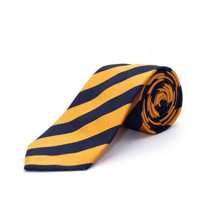 Chiccheria Brand Krawatte aus Seide, gestreift, Made in Italy