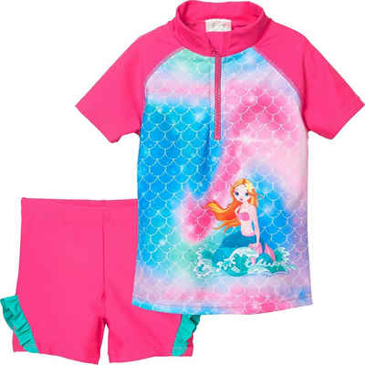 Playshoes Badeanzug »Kinder Badeset Schwimmshirt + Badehose mit«