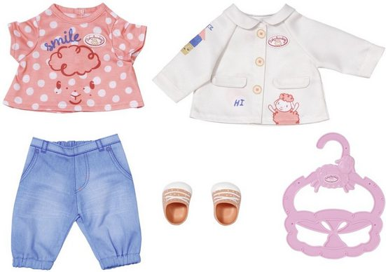 Baby Annabell Puppenkleidung »Little Spieloutfit«