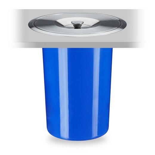 relaxdays Einbaumülleimer »Mülleimer für Arbeitsplatte 8 Liter«