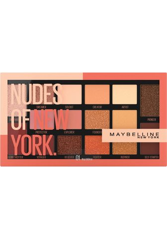 MAYBELLINE NEW YORK Lidschatten-Palette »Nudes Of New York...