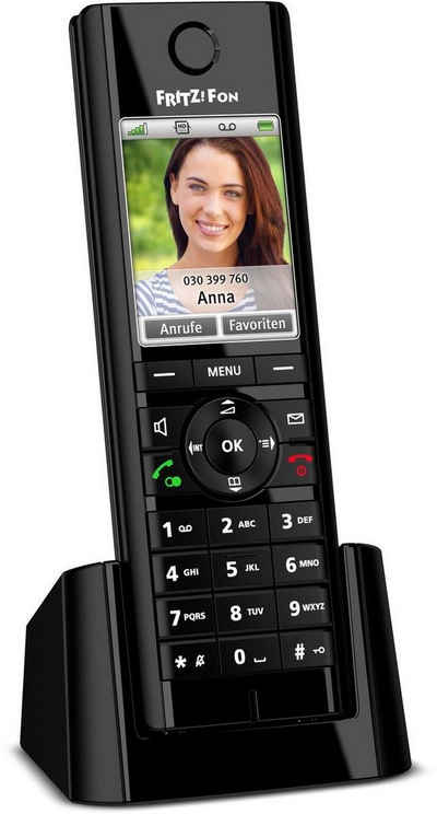 AVM »FRITZ!Fon C5 Mobilteil« Schnurloses DECT-Telefon (Mobilteile: 1)