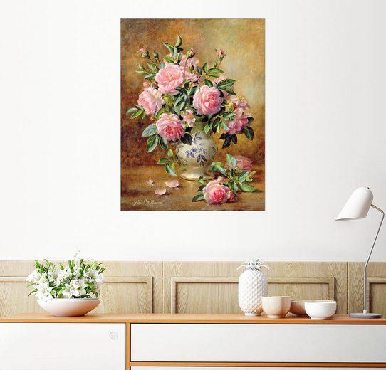 Posterlounge Wandbild, Rosa Rosen