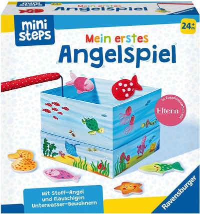 Ravensburger Spiel, »ministeps® Mein erstes Angelspiel«, Made in Europe, FSC® - schützt Wald - weltweit