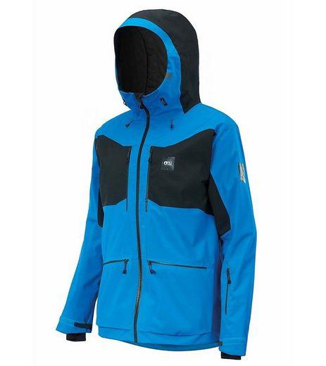 Picture Skijacke »PICTURE Naikoon Snowboard-Jacke umweltfreundliche Herren Hardshell-Jacke Winter-Jacke Blau/Schwarz«