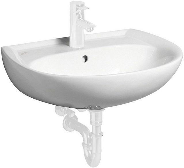 Waschtische - GEBERIT Waschbecken »Renova Nr. 1«, mit Hahnloch, mit Überlauf, weiß  - Onlineshop OTTO
