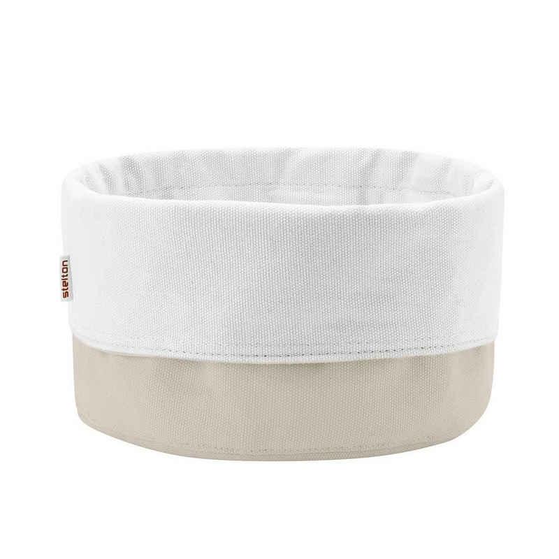 Stelton Brotkorb »Brottasche sand-weiß groß«, 100% Baumwolle (lebensmittelsicher)