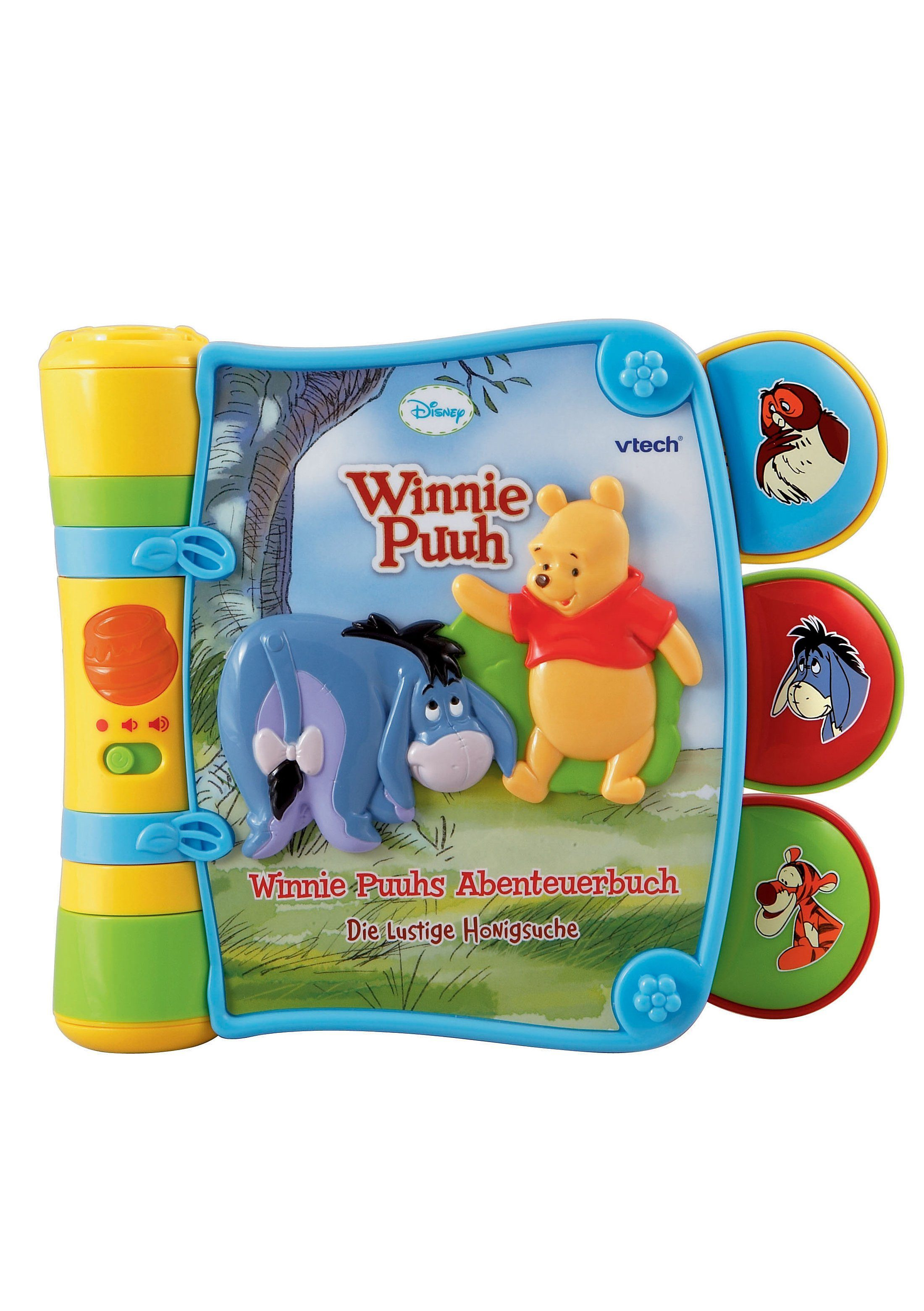 VTech Winnie Puuhs Abenteuerbuch, »Die lustige Honigsuche«
