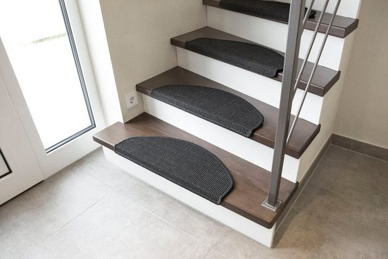 Stufenmatte »Odense«, Andiamo, stufenförmig, Höhe 9 mm, Obermaterial: 100% Sisal