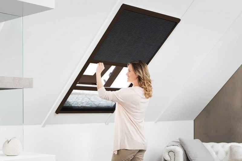Dachfensterplissee MASTER DUO, empasa, Aluminium-Selbstbausatz